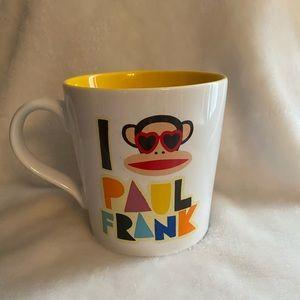 I Love Paul Frank Coffee Mug Cup